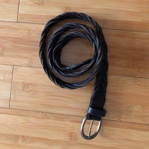 Hollister Leather Woven Belt